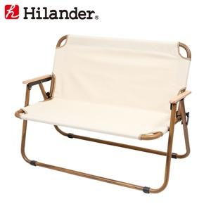 Hilander(ハイランダー) アルミフォールディングベンチ(2人掛け) HCA0253