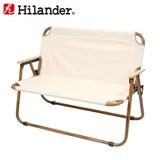 Hilander(ハイランダー) アルミフォールディングベンチ(2人掛け) HCA0253 ベンチ