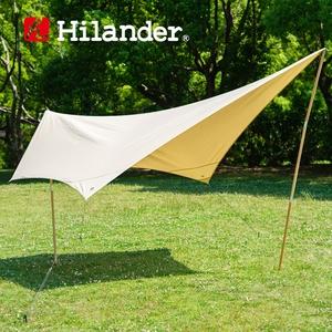 Hilander(ハイランダー) トラピゾイドタープ ポリコットン HCA0259