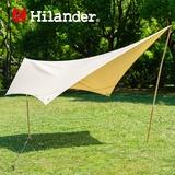 Hilander(ハイランダー) トラピゾイドタープ ポリコットン HCA0259 ウィング型(ポール:1~2本)