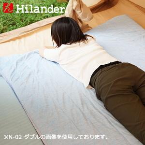 Hilander(ハイランダー) インフレーターマット用 冷感敷きパッド N-01 マットアクセサリー
