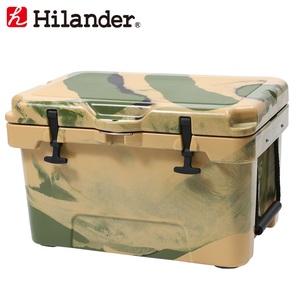 【送料無料】Hilander(ハイランダー) ハードクーラーボックス 35L カモ HCA0267