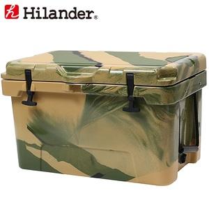 【送料無料】Hilander(ハイランダー) ハードクーラーボックス 45L カモ HCA0268