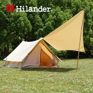 【送料無料】Hilander(ハイランダー) TCテント アルネス+TCタープ トラピゾイド スタートパッケージ HCA0241HCA0259