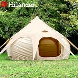 Hilander(ハイランダー) 蓮型テント NAGASAWA 400 HCA0280 ファミリードームテント