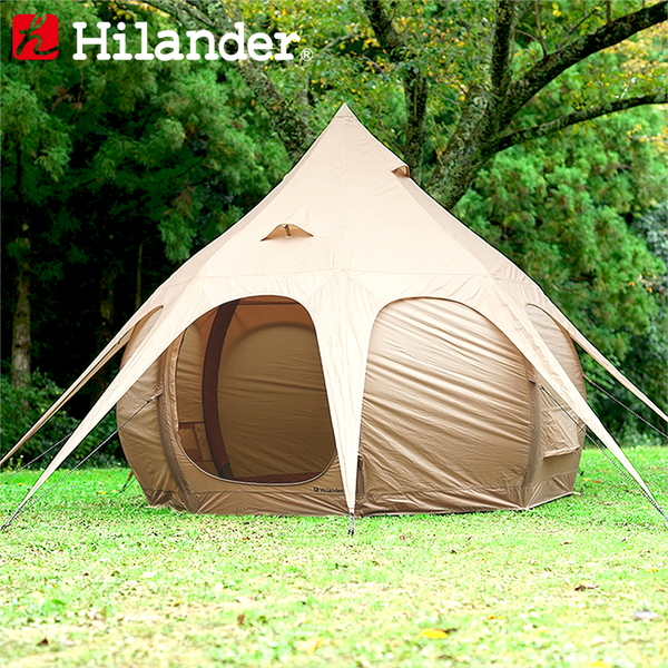 Hilander(ハイランダー) 蓮型テント NAGASAWA 300 HCA0281 ファミリードームテント