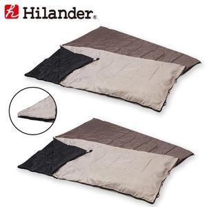 Hilander(ハイランダー) 2in1 洗える3シーズンシュラフ(5度&15度対応)【お買い得2点セット】 UK-7