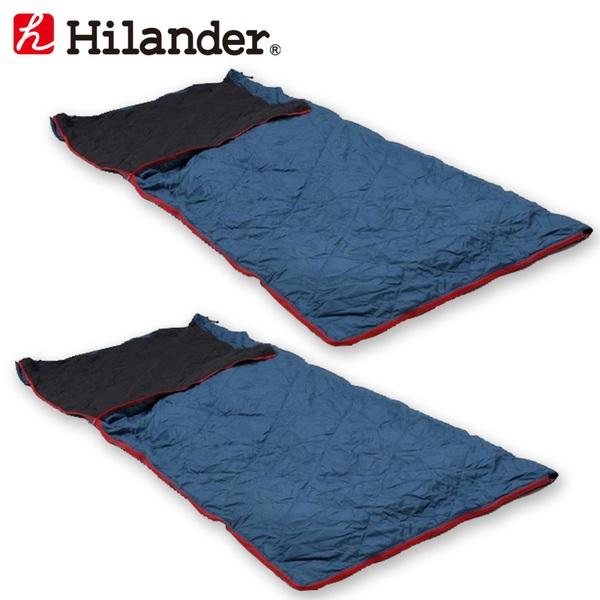 Hilander(ハイランダー) スーパーコンパクトシュラフ【お得な2点セット】 HCA2018 スリーシーズン用