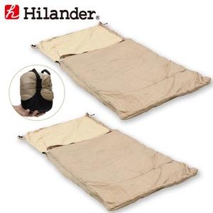 Hilander(ハイランダー) スーパーコンパクトシュラフ【お得な2点セット】 HCA2017