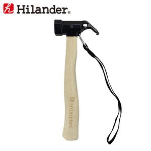 Hilander(ハイランダー) スチールヘッドペグハンマー HCA0284 ハンマー&ペグ抜き&スコップ