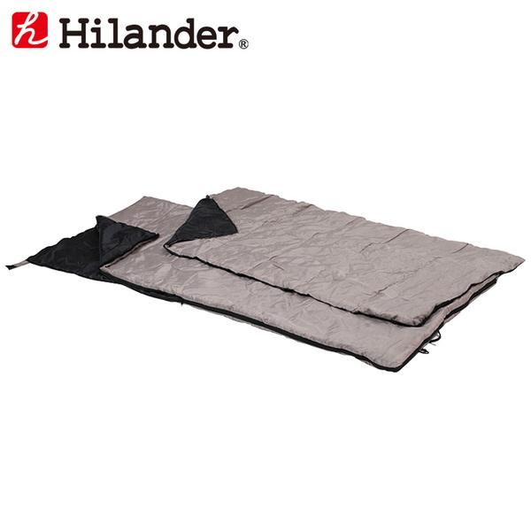 Hilander(ハイランダー) 2in1 洗える2シーズンシュラフ(15℃+掛け布団) HCD002 夏用