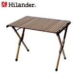 Hilander(ハイランダー) ウッドロールトップテーブル HCA0293 キャンプテーブル