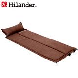 Hilander(ハイランダー) スエードインフレーターマット 2つ折り仕様(枕付きタイプ) 3.2cm UK-18 インフレータブルマット