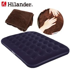 Hilander(ハイランダー) キャンプ用エアベッド+エアベッド用ボア敷きパッド【お得な2点セット】 HCA2016UK-17