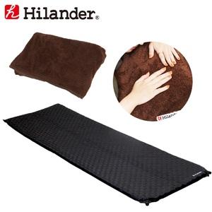 Hilander(ハイランダー) インフレーターマット3.5cm+インフレーターマット用ボア敷きパッド【お得な2点セット】 HCA0265UK-14