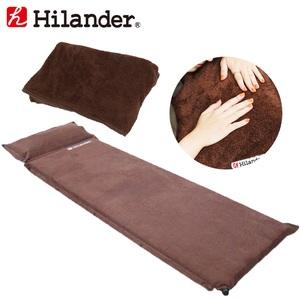 Hilander(ハイランダー) スエードインフレーターマット9.0cm+インフレーターマット用ボア敷きパッド【お得な2点セット】 UK-9UK-14