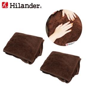 Hilander(ハイランダー) エアベッド用ボア敷きパッド【お得な2点セット】 UK-16