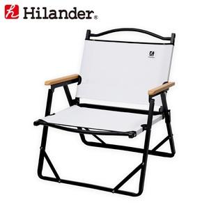 Hilander(ハイランダー) アルミデッキチェア HTF-DCBWH ディレクターズチェア