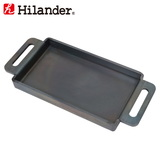 Hilander(ハイランダー) 焚き火鉄板(超極厚6mm) HCA-005F フライパン