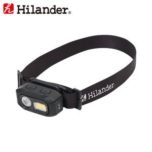 Hilander(ハイランダー) 480ルーメン LEDヘッドライト(USB充電式) HCA0303 ヘッドランプ