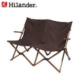 Hilander(ハイランダー) ウッドフレーム 2人掛けリラックスチェア【限定カラー】 HCA0307 ベンチ