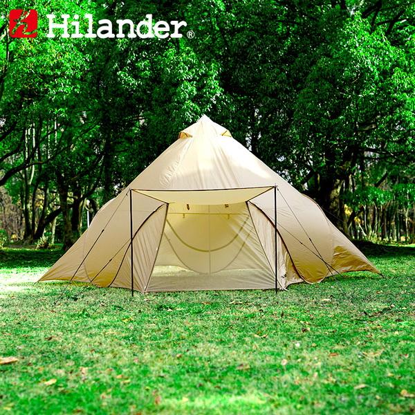 Hilander(ハイランダー) ポップワンポールテント フィンガル【インナーテント1個付き】 HCA0310SET ポップアップテント