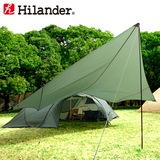 Hilander(ハイランダー) トラピゾイドタープ450 HCA0317 ウィング型(ポール:1~2本)