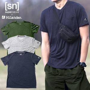 Hilander(ハイランダー) 【sn×Hilander】メリノウール ポケットTシャツ SN483