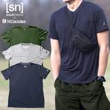 Hilander(ハイランダー) 【sn×Hilander】メリノウール ポケットTシャツ SN483 メンズ半袖Tシャツ
