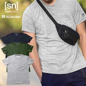 Hilander(ハイランダー) 【sn×Hilander】メリノウール ポケットTシャツ SN965