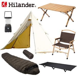 Hilander(ハイランダー) A型フレーム ネヴィス ソロキャンプ用フルセット