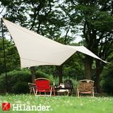 Hilander(ハイランダー) 【在庫限り特価】トラピゾイドタープ HCA0338 ウィング型(ポール:1~2本)