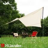 Hilander(ハイランダー) 【在庫限り特価】トラピゾイドタープ 450 HCA0339 ウィング型(ポール:1~2本)