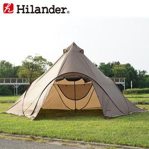 Hilander(ハイランダー) ポップワンポールテント フィンガル スカート付き【限定カラー】 HCA0342