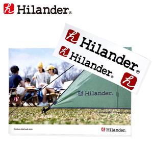 Hilander(ハイランダー) Outdoor stylebook2020【ステッカー付き】
