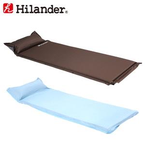 Hilander(ハイランダー) インフレーターマット(枕付きタイプ)4.0cm+冷感シーツ(Q-MAX0.445) UK-8UK-21