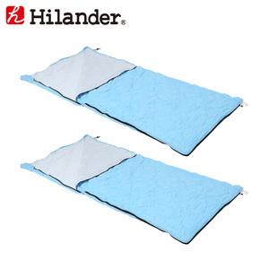 Hilander(ハイランダー) 接触冷感シュラフ【お得な2点セット】 UK-23