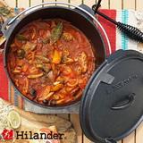 Hilander(ハイランダー) ダッチオーブン 10インチ スターターセット(本体+リフター+収納袋+グローブ) HCA0320UM-1918 ダッチオーブン