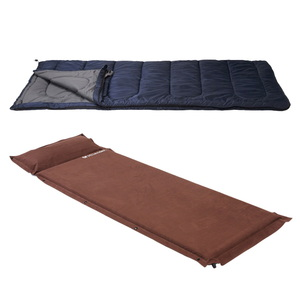 イスカ(ISUKA) CAMPLABO(キャンプラボ)800N(推定0℃)+スエードインフレーターマット枕付き5.0cm