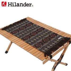 Hilander(ハイランダー) テーブルクロス(フリンジ仕様) HCR-003