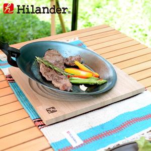 Hilander(ハイランダー) 焚き火プレート&フライパン 専用ボード HCR-006