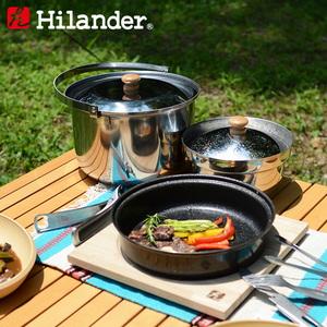 Hilander(ハイランダー) ファミリーキャンピングクッカーセット HFK-001