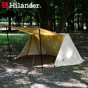 Hilander(ハイランダー) ハンガーフレームシェルター クロシェト ポリコットン HCB-008