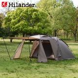 Hilander(ハイランダー) アルミフレーム2ルームテント スタートパッケージ 520300 HCA0355 ツールームテント