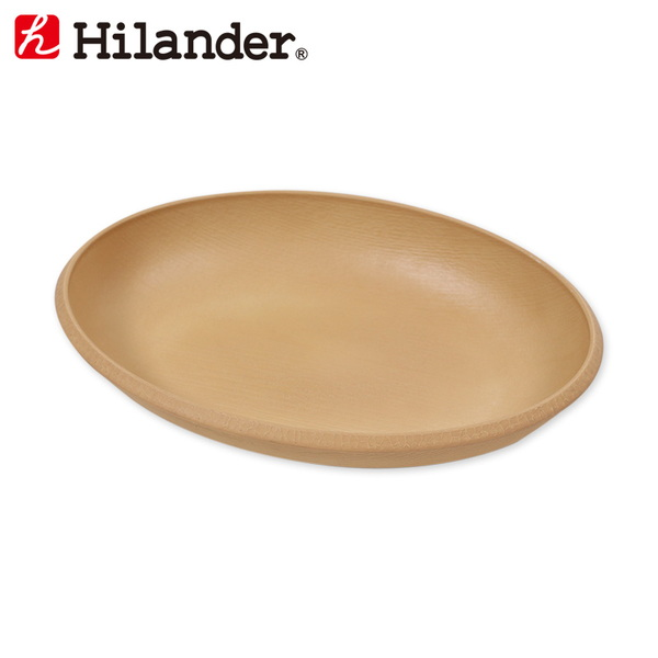 Hilander(ハイランダー) オーバルプレート HCA026A ウッド製お皿