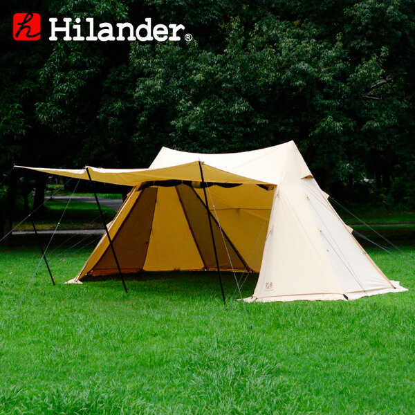 Hilander(ハイランダー) A型フレーム グランピアン ポリコットン HCA2033 ワンポールテント