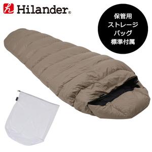 Hilander(ハイランダー) ダウンフェザーシュラフ600(保管用ストレージバッグ付き) N-033 スリーシーズン用