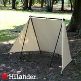 Hilander(ハイランダー) ハンガーフレームスクリーン ポリコットン スタートパッケージ HCB-010SET BBQ&七輪&焚火台アクセサリー