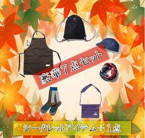 【送料無料】BELLWOODMADE(ベルウッドメイド) 秋のキャンプアパレルアクセントに!!ナチュラム★Happybox★