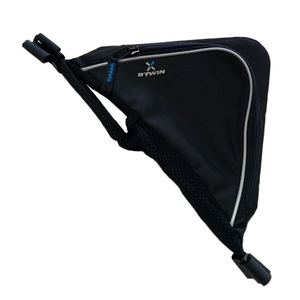 B'TWIN(ビトウイン) TRIANGLE FRAME BAG 0.6L BLACK